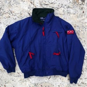 🐴🐴 Vintage 90s Polo Hi Tech jacket